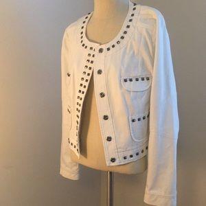 Studded Moto style jacket -Vince camuto - like new